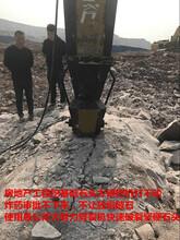 矿山开采花岗岩的设备裂石棒图片