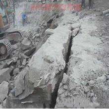 房地产基础石方开挖硬石头愚公斧劈裂机欢迎来厂漯河图片
