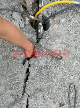 山體石英石開采開爆施工方案混凝土開山機