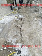 矿山开挖致裂设备石头劈裂机图片
