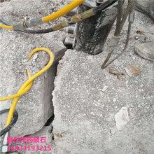 代替人工开采硬石头破石器图片