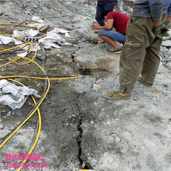 露天矿开山砂岩破碎岩石分裂棒多少钱