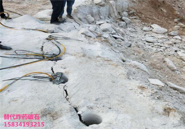 曲靖礦洞花崗岩破裂分裂機