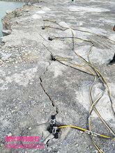 遵义挖隧洞岩石破裂裂石棒图片