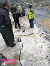 露天矿开山坚硬岩石爆破分裂棒怎么使用图片