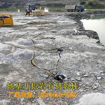 4千瓦泵站岩石石头分解器山东淄博断不断