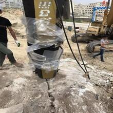 静态破分裂器土石方工程拆除岩石怎么破石头速度快图片