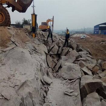 合肥广州石头液压劈石器矿山开采快速年夜理石出售厂家
