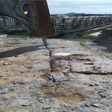 河北孝感大理石分裂机房地产基坑开挖破石