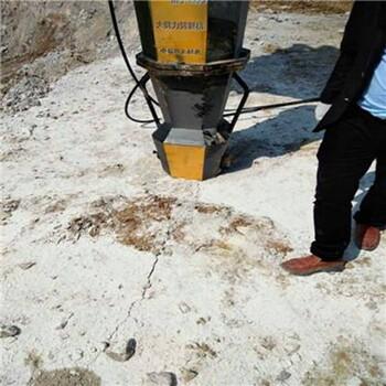 靜態爆破石頭破石機小型液壓巖石膨脹器
