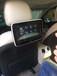 东莞奔驰新E升级改装后排娱乐显示屏