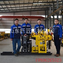 巨匠集团HZ-130Y百米水井钻机岩芯取样地质勘探钻机热销图片