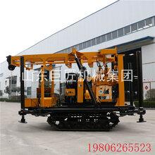 巨匠集团XYD-200履带水井钻机适用山区岩石打井图片