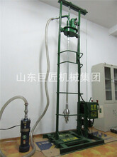 SJD-2C打井鉆機家用小型電動水井鉆機巨匠100米深水井鉆機圖片