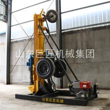 輪式氣動打井機打井設備KQZ-200D巖石打井沖擊回轉式圖片