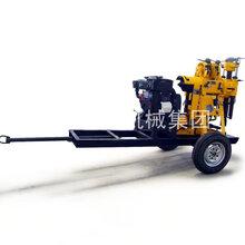 巨匠集团XYX-130轮式岩心钻机拖挂式液压岩心钻机图片