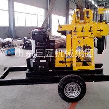 巨匠集团XYX-200轮式岩心钻机拖挂勘探钻机直销图片