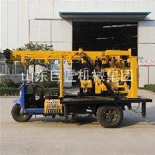 巨匠集团XYC-200A三轮车液压岩芯钻机地质钻机百米取芯图片