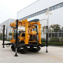 XYD-200履带式水井钻机成套打井设备履带液压水井钻机图片