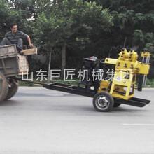 巨匠集團XYX-200型拖掛式水井鉆機液壓回轉式打井機圖片