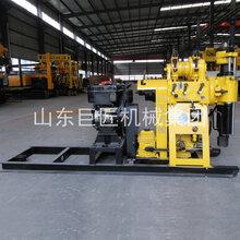液压动力头钻机架柱液压钻机钻井设备水井钻机使用