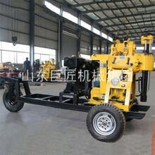 巨匠XYX-200小型柴油鉆井機拖車式水井鉆機巖石水井鉆機圖片