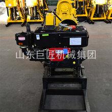 130型百米小型地质勘察钻机可打百米的液压钻机整套设备图片