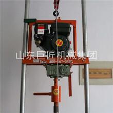 巨匠集團供應汽油機小型打井設備牽引型水井鉆機圖片
