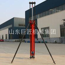 巨匠小型气动打井机气动潜孔打井机气动水井钻机潜孔水井钻机图片