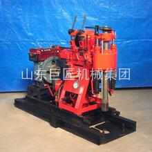 100米打井机液压水井钻机XY150型家用钻井机图片