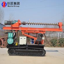 步履式打樁機打樁機價格便宜大功率操作簡單質優價廉華夏巨匠圖片