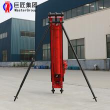 纯气动潜孔钻机KQZ-100风炮岩石钻孔机冲击式打洞眼图片
