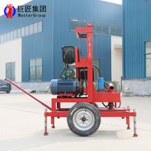 三相电打井机SJDY-3新型液压钻井设备120米家用小型打井设备图片