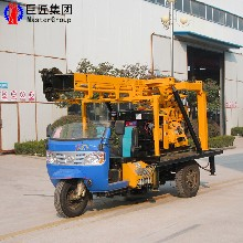 民用打井钻机XYC-200型车载式水井钻机家用打井机图片