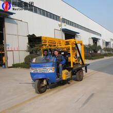 巨匠车载式液压岩芯钻机地勘取芯钻机200米钻探机械图片