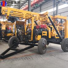 家用打井钻机钻井机械XYX-200型轮式水井钻机江苏图片