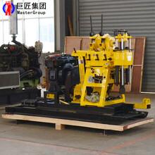 山东地质勘探钻机HZ-200型地质钻探机械岩心钻机视频图片
