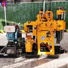 液压水井钻井机山东钻井机械设备HZ-200Y打井钻机图片