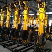 巨匠KQZ-180D气动水井钻机工具厂岩石水井钻机一站够齐图片