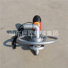 大功率電動打井機家用小型農用手持式鉆井機便攜式民用水井鉆機圖片