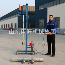 SJD-2B型龍門架式電動打井機農村打井設備簡單打井電動支架打井機圖片