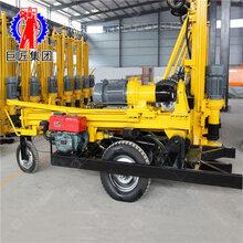 KQZ-200D气动水井钻机视频打井设备厂家钻井机巨匠直供图片