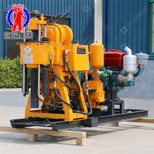 液压水井钻机HZ-130Y百米钻井机钻深水井钻机柴油动力图片
