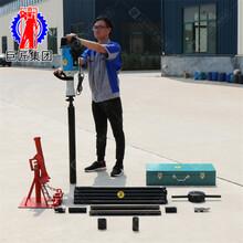 轻便取土便携式土壤检测设备取样钻机10米QTZ汽油取土钻机图片