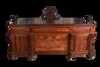 王义红木古典书桌,品相好大红酸枝办公桌只选芯材