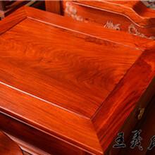 王义红木花梨木沙发,枣庄小户型王义红木大果紫檀沙发图片