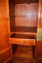 古典大红酸枝沙发自然美王义红木酸枝家具图片