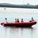 防汛玻璃钢冲锋舟冲锋舟快艇救生设备巡逻水上救援船