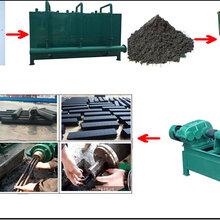 全自动木炭机整套设备秸秆制炭机稻壳木炭机烧烤炭制造设备图片