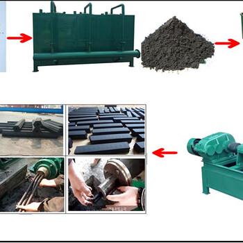 供應節能環保玉米秸稈木炭機全套機質木炭機械木屑制炭機